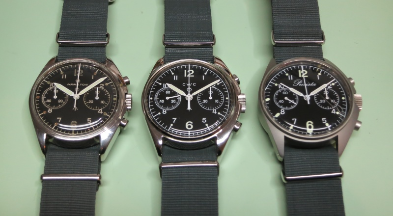 CWC 1970\'s remake mechanical chronoraph (unboxing and comparison ...